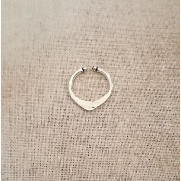 pointy silver septum