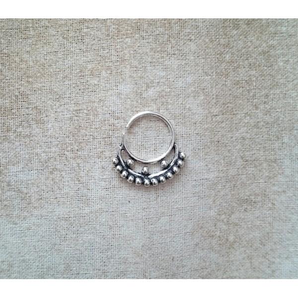 Silver septum