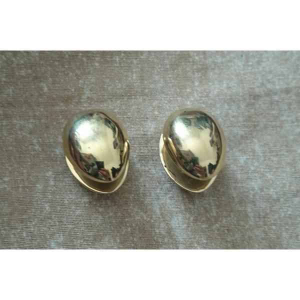 brass ear weights nuts