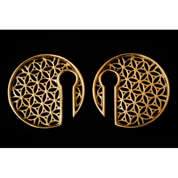 Flower of Life EAR WEIGHTS
